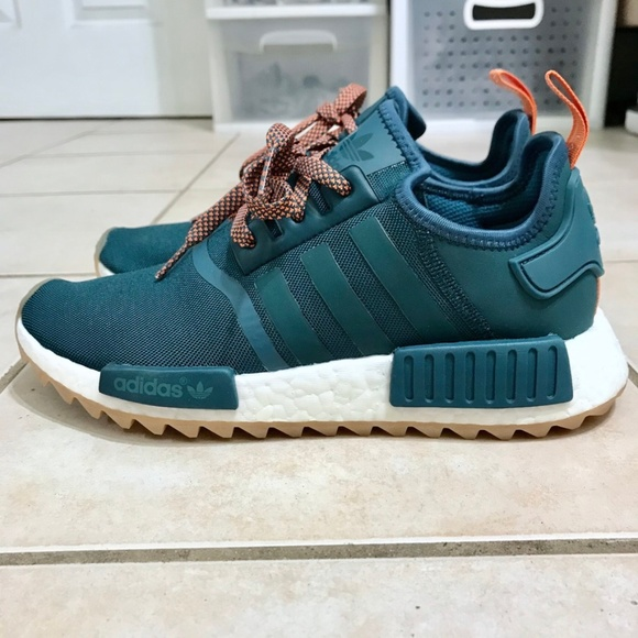 Adidas NMD R1 Trail Teal Women Sneakers Boutique
